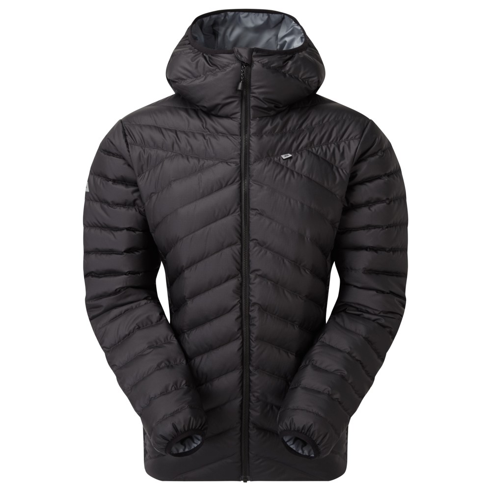 Mountain Equipment Earthrise Hooded Jacket Womens Black