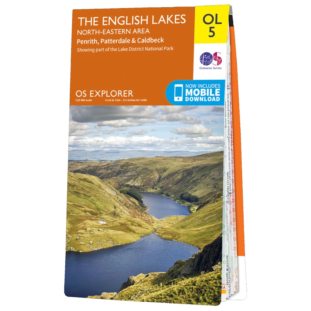 Ordnance Survey Active Explorer OL5 NE Lakes N/A