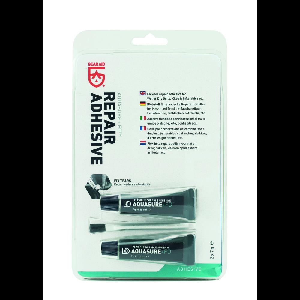 Gear Aid Aquasure + FD Repair Adhesive 2 tubes No Color