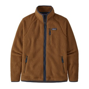 Retro Pile Jacket Men's Bear Brown