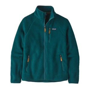 Patagonia Retro Pile Jacket Men's in Dark Borealis Green
