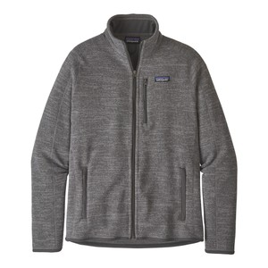 Better Sweater Jacket Mens Nickel