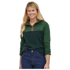 Patagonia Micro D Snap -T P/O Womens in Northern Green