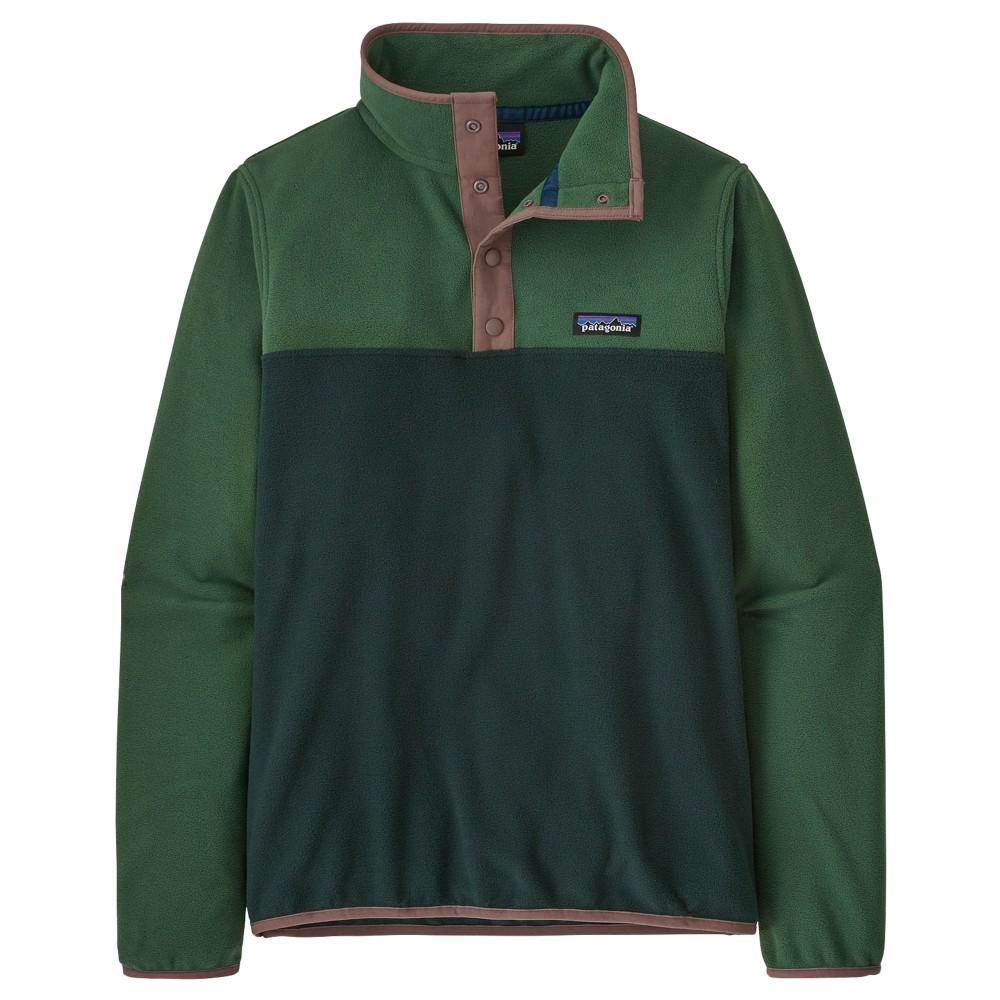 Patagonia Micro D Snap -T P/O Womens Northern Green