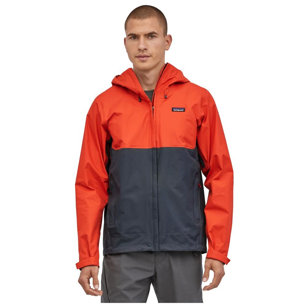 Patagonia Torrentshell 3L Jacket Mens Hot Ember