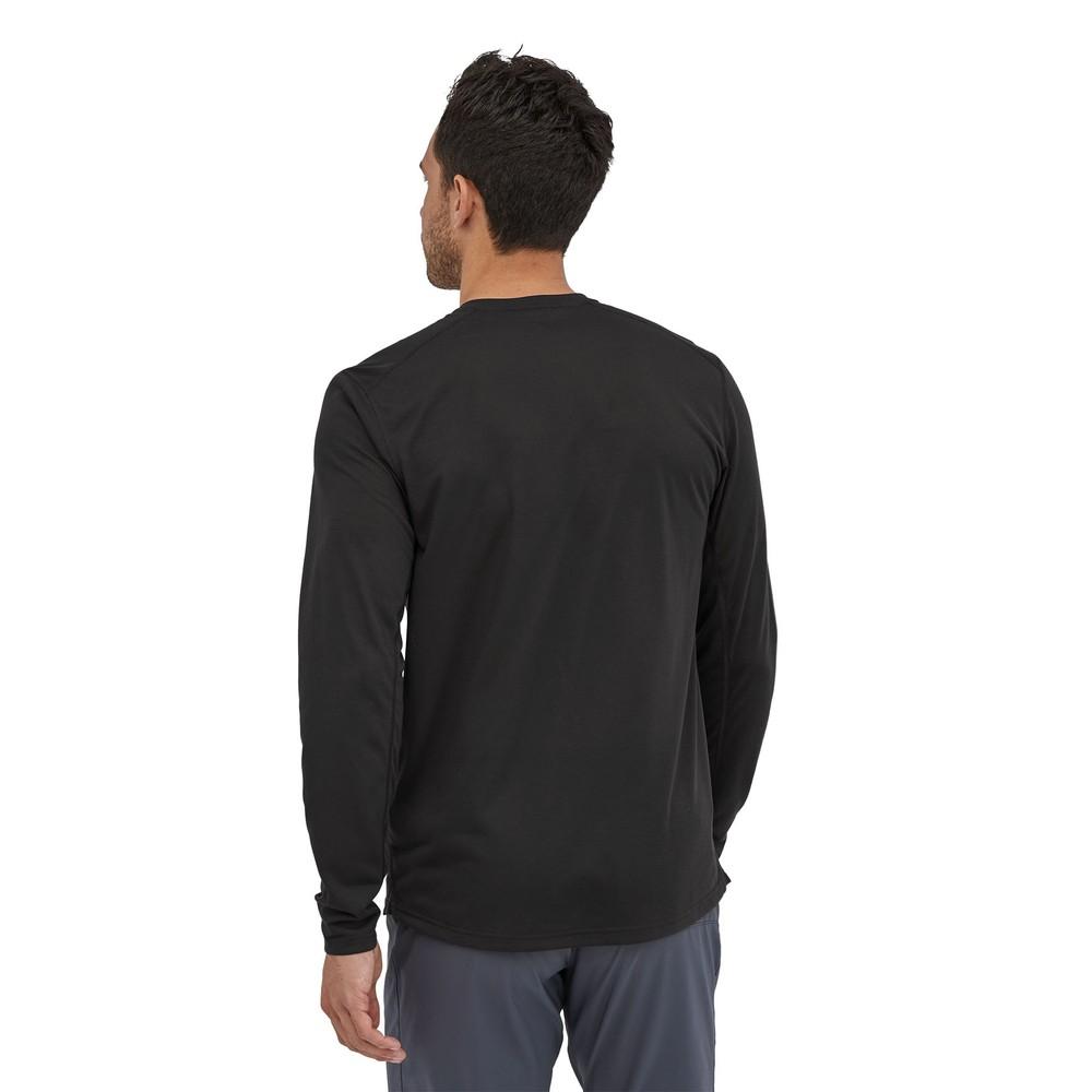 Patagonia LS Cap Cool Trail Shirt Mens Black