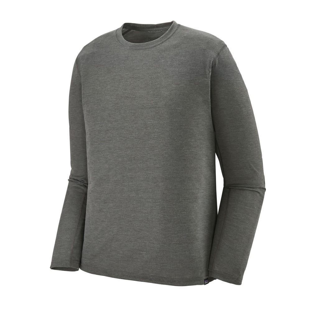 Patagonia LS Cap Cool Trail Shirt Mens Forge Grey