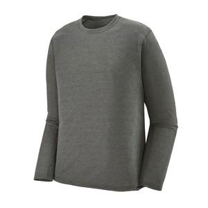 LS Cap Cool Trail Shirt Mens Forge Grey