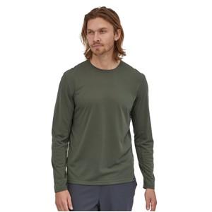 LS Cap Cool Trail Shirt Mens Industrial Green