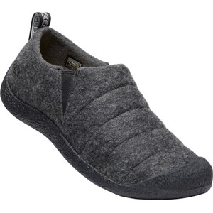 Howser II Womens Grey Felt/Black