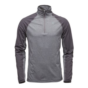 Black Diamond Approach Qtr Zip Fleece Mens