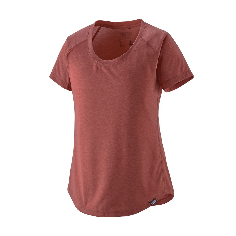 Patagonia Cap Cool Trail Shirt Womens Rosehip