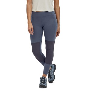 Patagonia Pack Out Hike Tights Womens in Smolder Blue