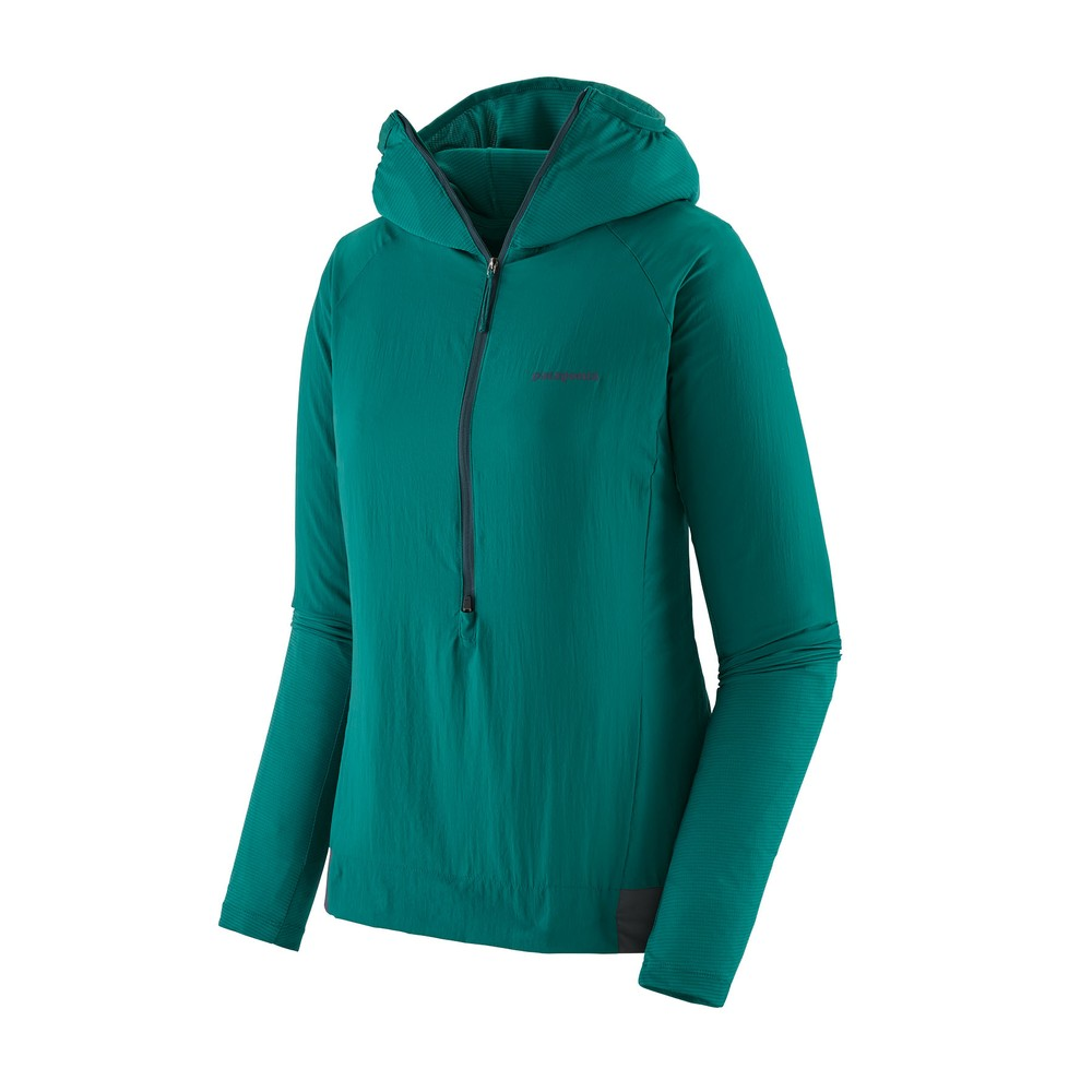 Patagonia Airshed Pro Pullover Womens Borealis Green