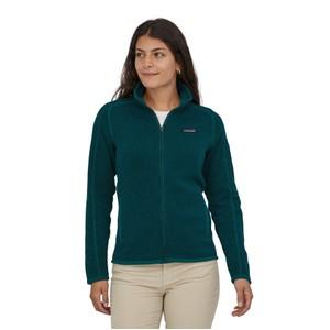 Better Sweater Jacket Womens Dark Borealis Green