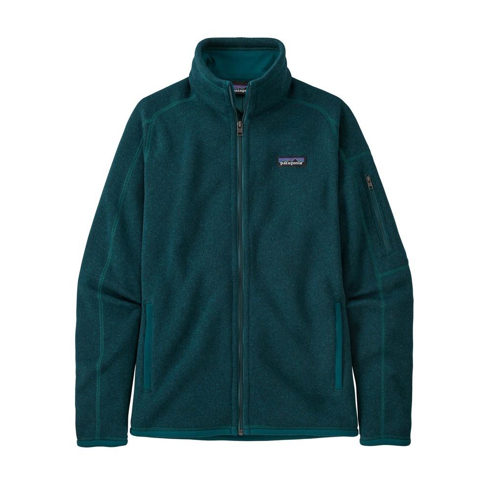 Patagonia Better Sweater Jacket Womens Dark Borealis Green