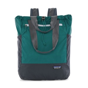 Patagonia Ultralight Black Hole Tote Pack in Borealis Green