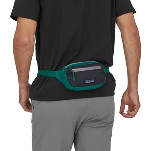 UL Black Hole Mini Hip Pack Borealis Green