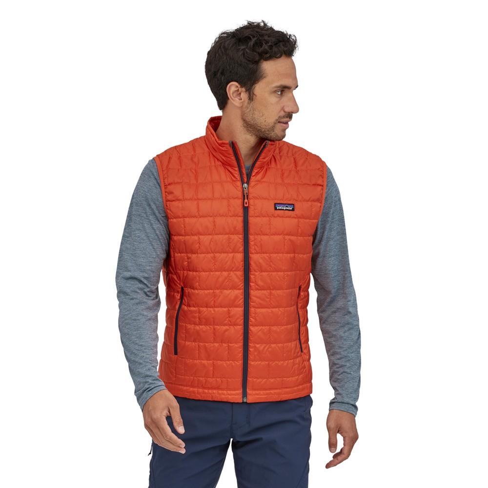 Patagonia Nano Puff Vest Mens Metric Orange