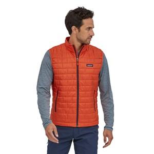 Nano Puff Vest Mens Metric Orange