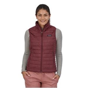 Nano Puff Vest Womens Dark Ruby w/Dark Ruby