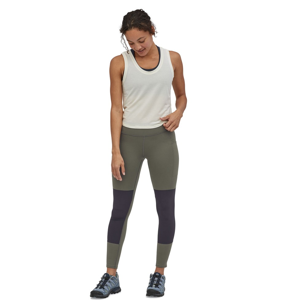 Patagonia Pack Out Hike Tights Womens Basin Green
