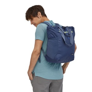Ultralight Black Hole Tote Pack Current Blue