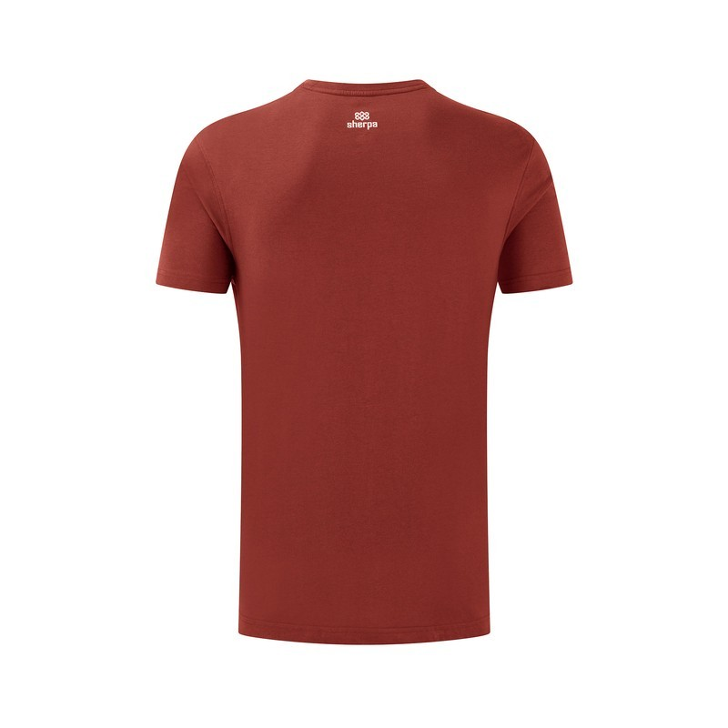 Sherpa Tarcho Tee Mens Clay Red