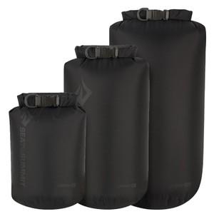 Sea To Summit Lightweight 70D Dry Sack 3-piece set 4L,8L,13L in Black