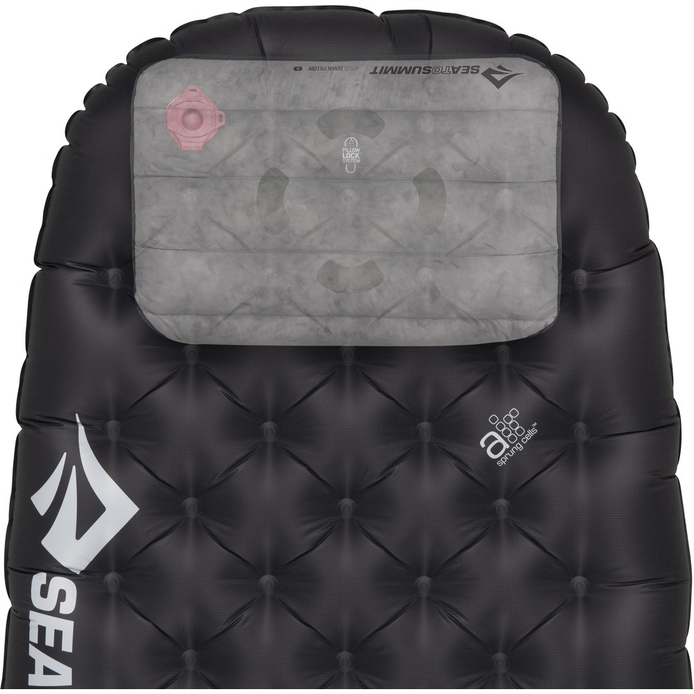 Sea To Summit Ether Light XT Extreme Mat Womens Regular Black/Persian Red