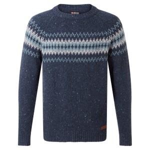 Dumji Crew Sweater Mens Rathee Blue