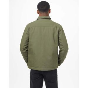 Treeline Canvas Jacket Olive Night Green