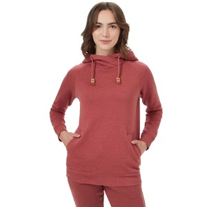 Burney Hoodie Womens Apple Butter Red Heather