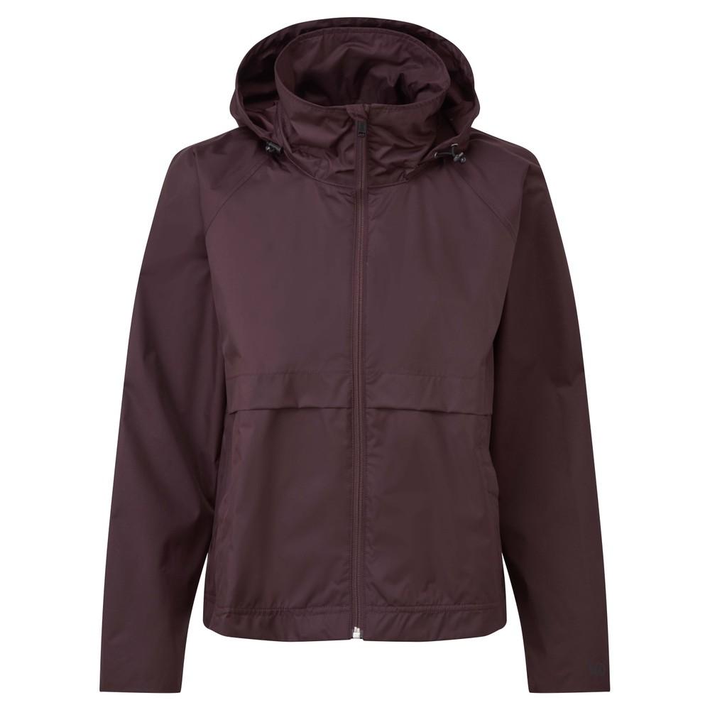 tentree Nimbus Short Rain Jacket Womens Mulberry