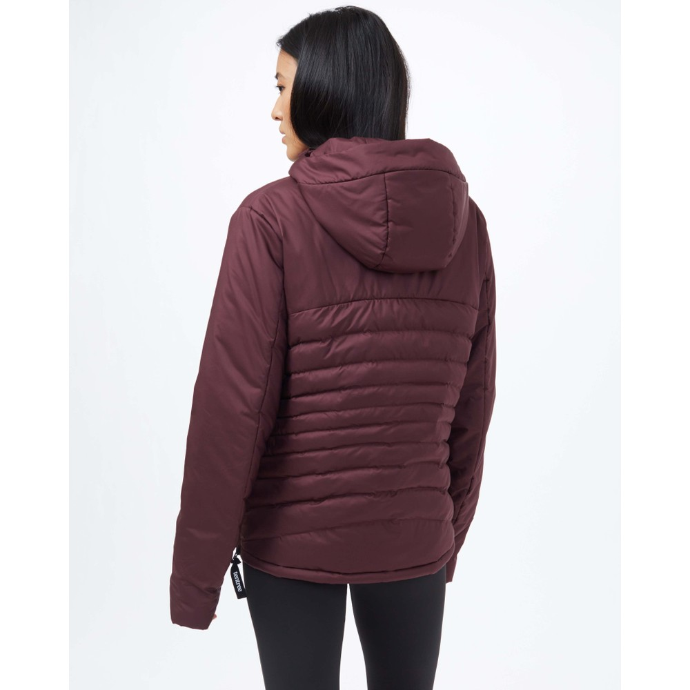 tentree Cloud Shell Anorak Womens Mulberry
