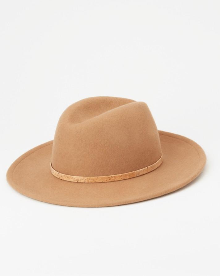 tentree Festival Hat Womens Foxtrot Brown