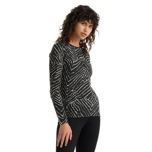 Oasis 200 LS Crewe Tesselated Pavement Womens Black