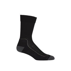 Hike+  Lite Crew Sock Mens Black/Mink/Monsoon
