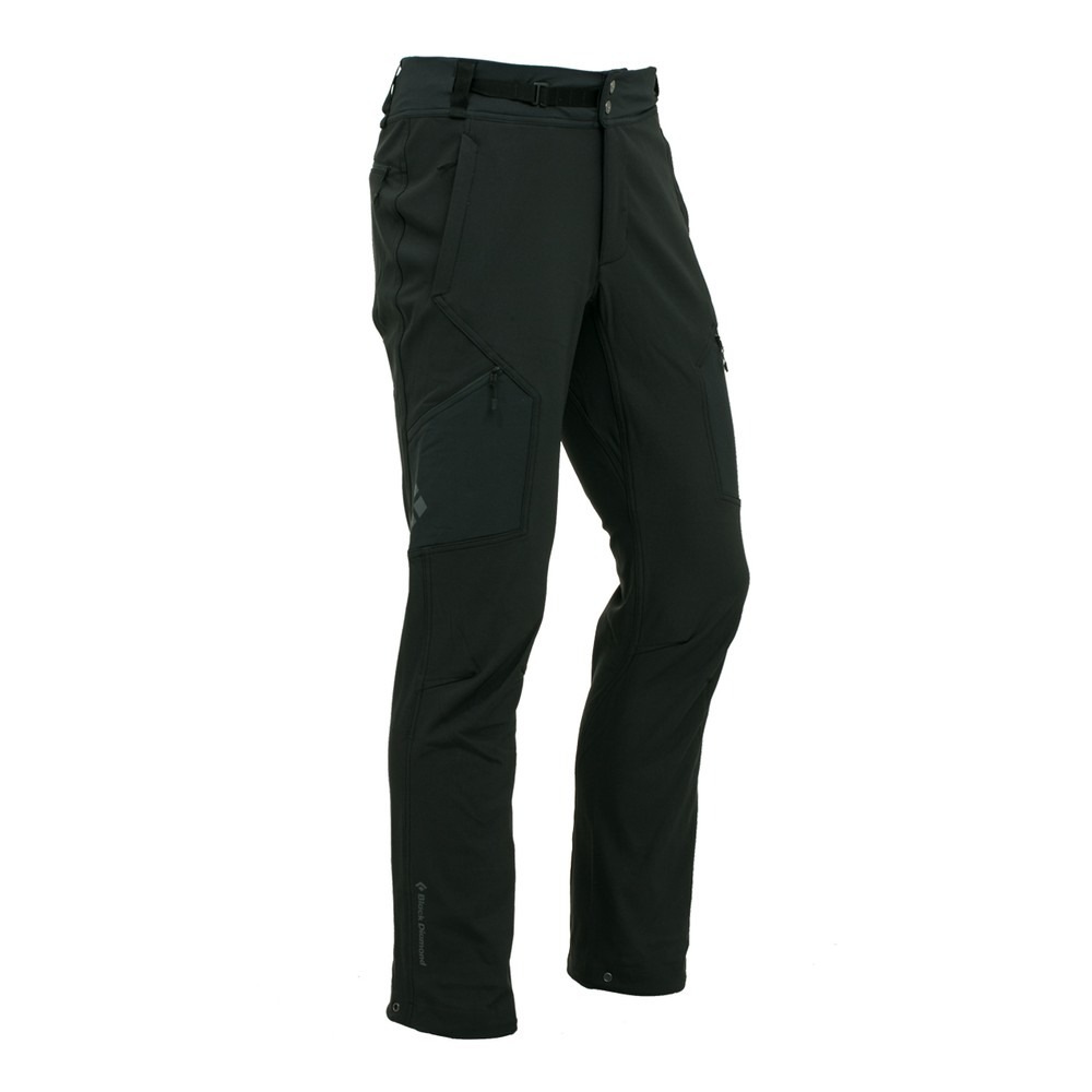 Black Diamond Winter Alpine Pants Mens Black