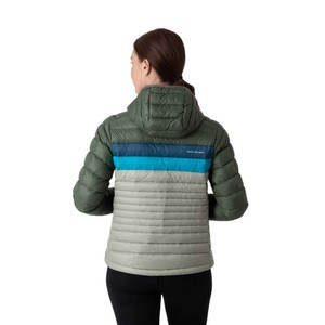 Fuego Down Hooded Jacket Womens Spruce & Brush