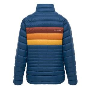 Fuego Down Jacket Womens Indigo Stripes