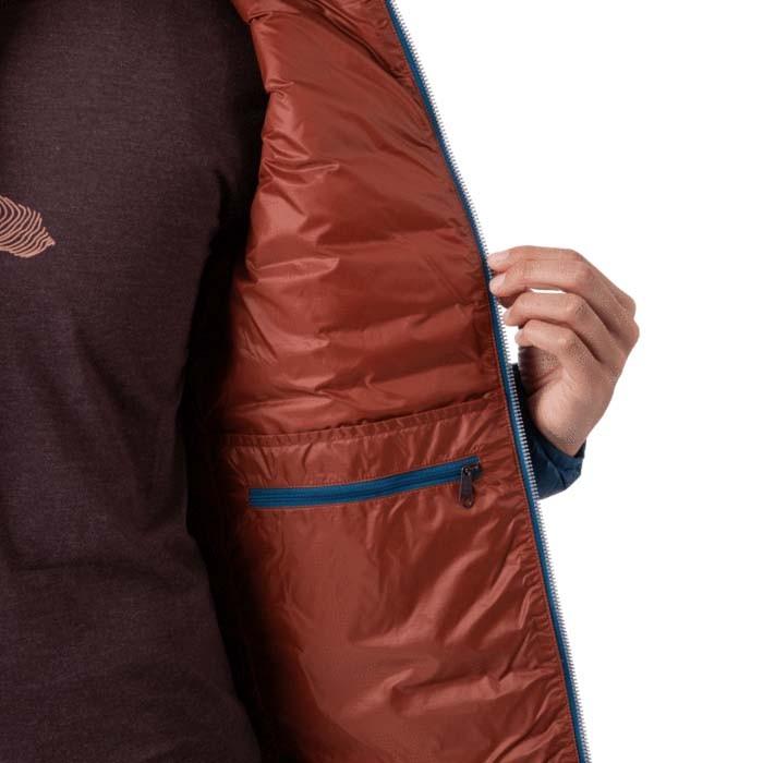 Cotopaxi Fuego Down Jacket Womens Indigo Stripes