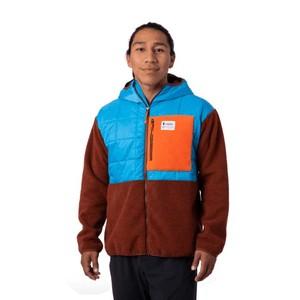 Trico Hybrid Jacket Mens Azul & Rust