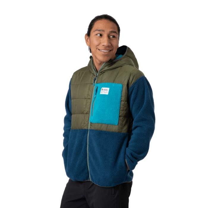 Cotopaxi Trico Hybrid Jacket Mens Spruce & Indigo