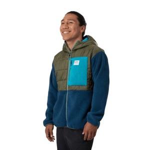 Trico Hybrid Jacket Mens Spruce & Indigo