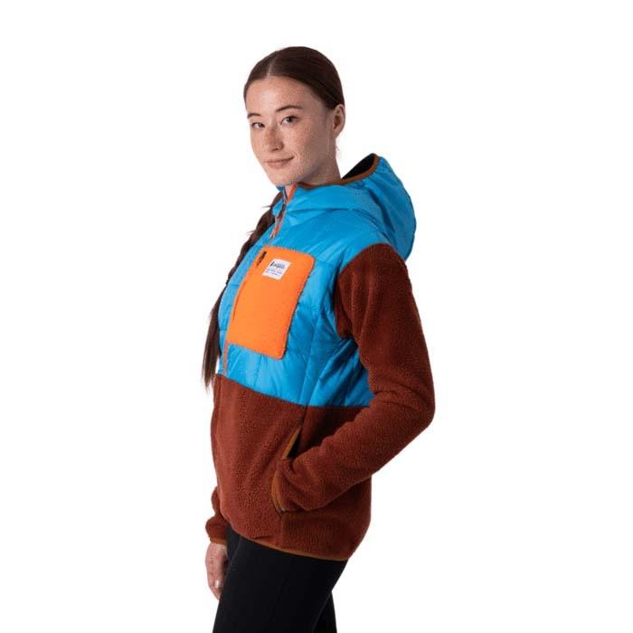 Cotopaxi Trico Hybrid Jacket Womens Azul & Rust