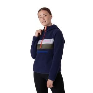 Teca Fleece Hooded Half-Zip Jacket Womens Stargazing