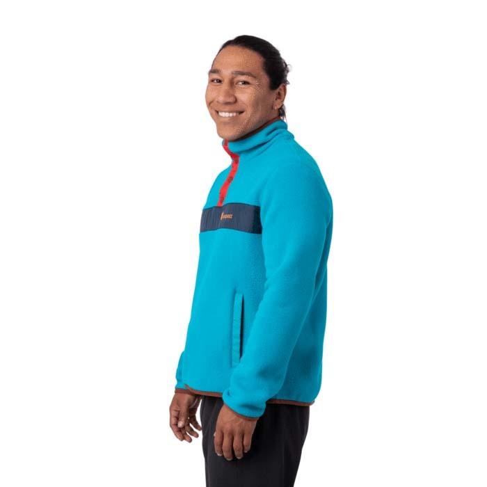 Cotopaxi Teca Fleece Qtr Snap Jacket Mens Bar Harbor