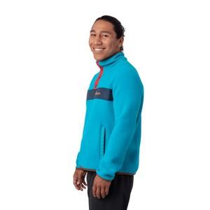 Teca Fleece Qtr Snap Jacket Mens Bar Harbor