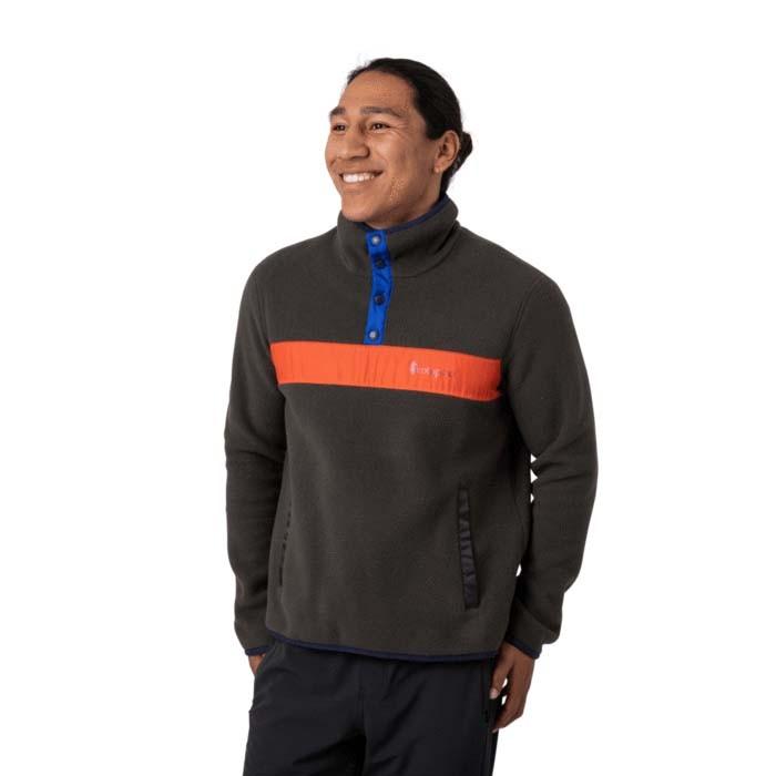 Cotopaxi Teca Fleece Qtr Snap Jacket Mens Home Run